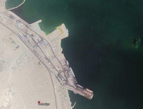 Bot tender dry bulk terminal in adabiya port