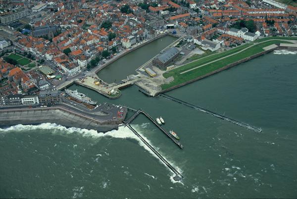 Port of Vlissingen, The Netherlands.