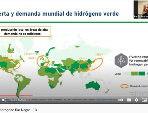 Port Consultants Rotterdam webinar on green hydrogen export logistics for Rio Negro, Argentina